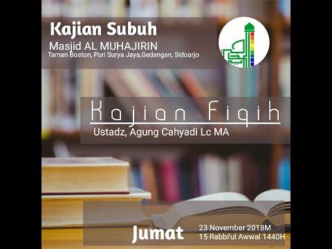 AlMuhajirin TamanBoston - Ustadz Agung Cahyadi - 23 November 2018 / 15 Rabi'ul Awwal 1440
