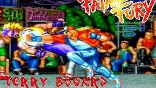 Fatal Fury: King Of Fighters (Arcade) - Terry Bogard