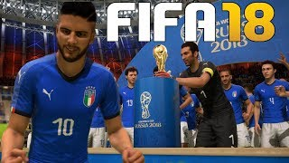 ITALY AT RUSSIA 2018! FIFA 18 World Cup Mode
