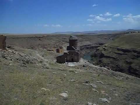 Ruinas de Ani, Antigua ciudad medieval, Kars, Turquía