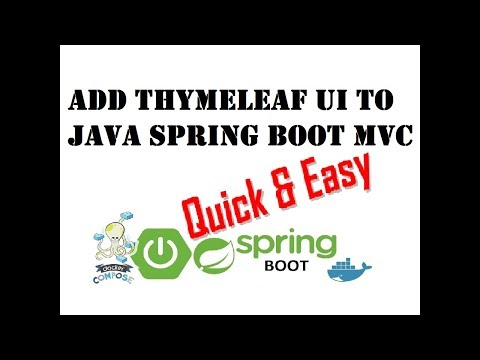 4/4] Docker: Add Thymeleaf to Java SpringBoot MVC - World
