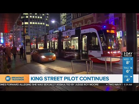 Hundreds of drivers issued warnings amid King Street Transit Pilot