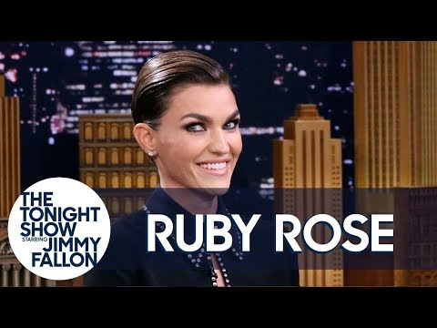 Batwoman Ruby Rose Gets Emotional On Tonight Show