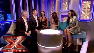 Sarah Jane catches up with the Judges | The Xtra Factor | The X Factor UK 2014