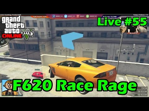 F620 Race Rage - GTA Live #55