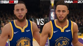 NBA 2K20 vs NBA 2K19 Graphics Comparison (PS4 Pro)