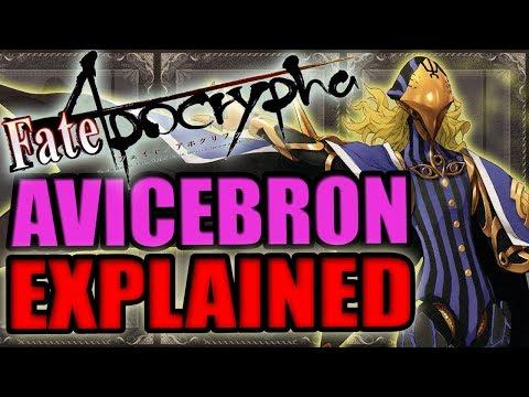 Caster of Black: AVICEBRON Explained - Fate Apocrypha   Past & Noble Phantasm