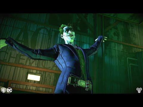 JOKER INTRODUCTION SCENES (Vigilante and Villain) Batman: The Enemy Within Episode 5