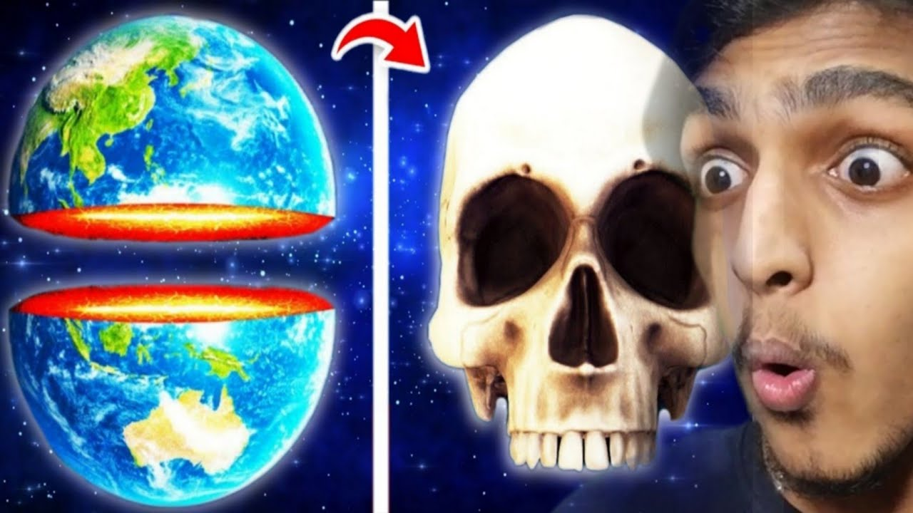 Turning EARTH Into SKULL PLANET !! GAME THERAPIST