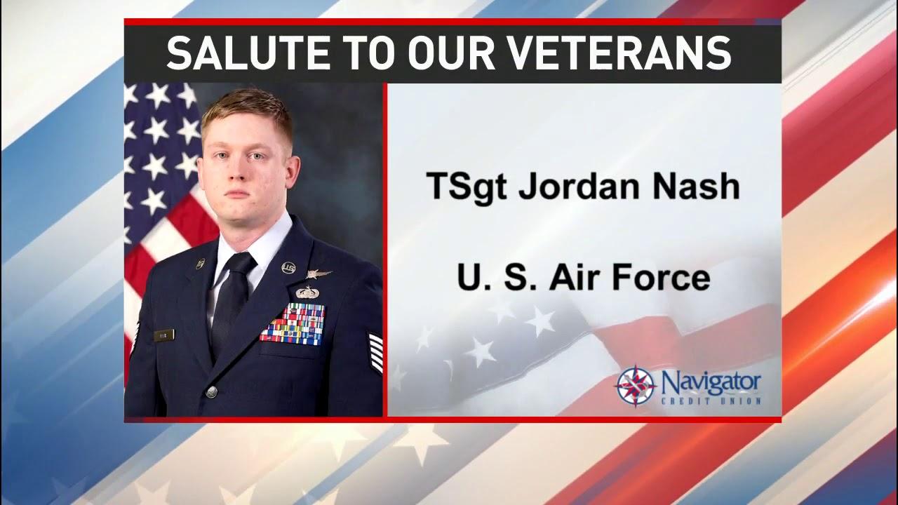 Salute to our veterans: Technical Sergeant Jordan Nash - NBC 15 WPMI
