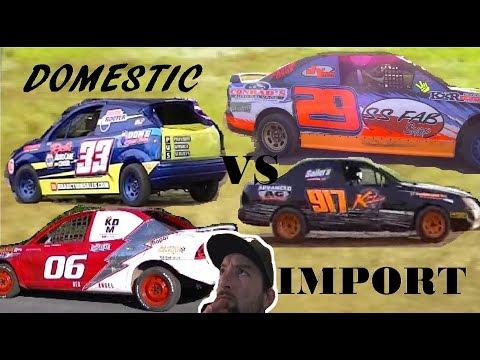 Red Cedar, Cedar Lake Speedway Hornets Highlights 2018