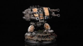 How To Paint Grey Knights Dreadnought? Warhammer 40k 40000 Painting Tutorial Buypainted