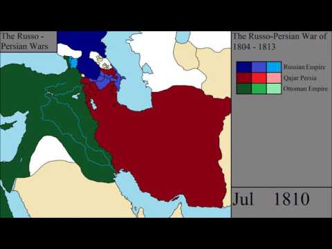The Russo - Persian Wars: Every Month