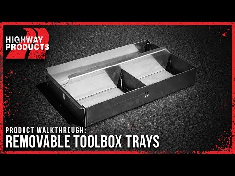 Highway Products | Single Lid Truck Tool Box
