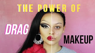 One of Lucy Garland's most viewed videos: THE POWER OF DRAG MAKEUP!
