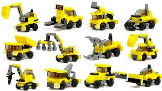 Working car block assembly | Construction site vehicle | dump truck for kids surprise egg