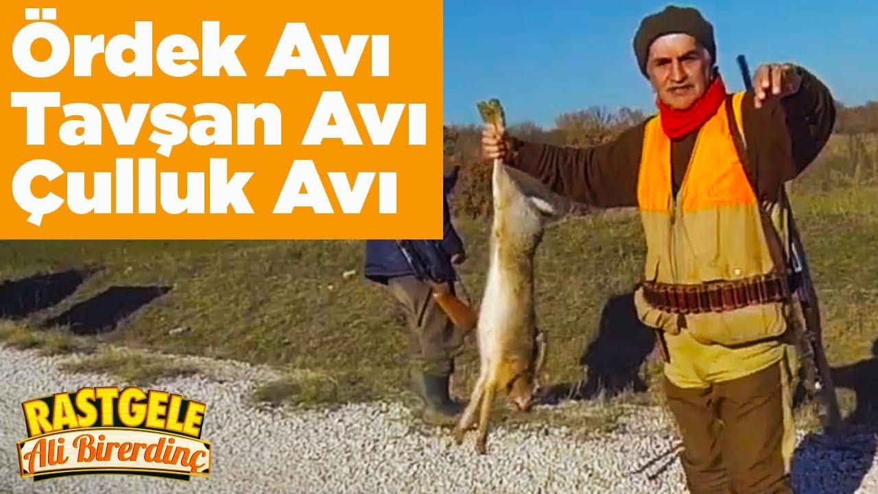 İpsala Ördek Avı Uzunköprü Tavşan Avı Saray Çulluk Avı Rastgele Ali Birerdinç Yaban Tv