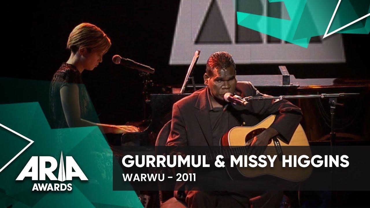 Gurrumul & Missy Higgins – Warwu (2011 ARIA Awards)
