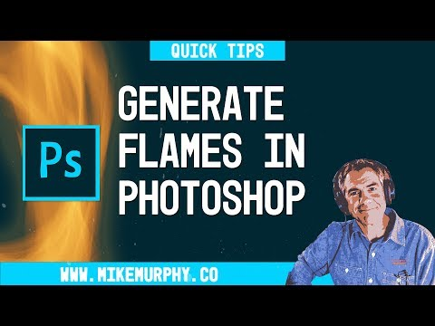 Photoshop Quick Tip: How To Create Flames