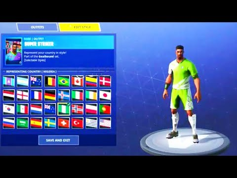 f09728f159d CUSTOMIZE FOOTBALL PLAYER SKIN! Fortnite Battle Royale - YouTube