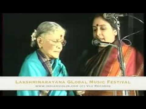 Smt. MS Subbulakshmi at the Lakshminarayana Global Music Festival