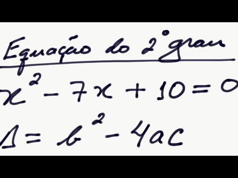 cf1b866ebb5 Fórmula de Bhaskara para solução de equação do 2º grau - exemplo- raizes da  equação