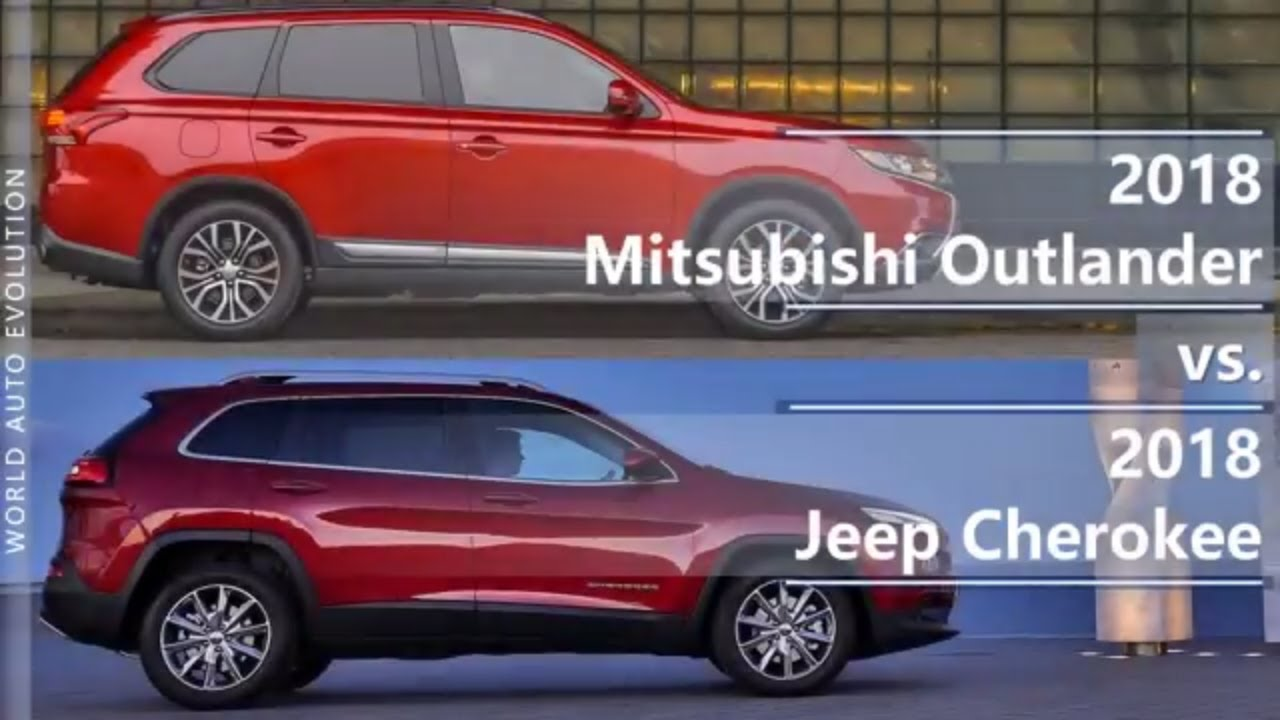 2018 Mitsubishi Outlander Vs 2018 Jeep Cherokee Technical