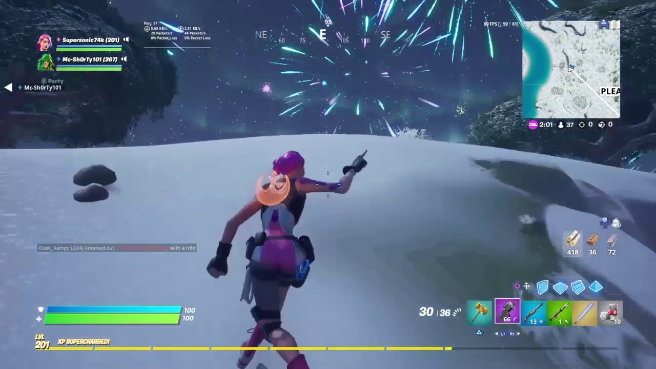 Fortnite 2020 event - YouTube