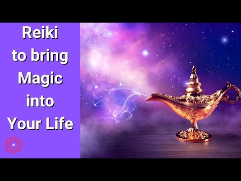 reiki to bring magic into your life/energy healing  youtube