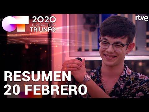 RESUMEN DIARIO OT 2020 | 20 FEBRERO
