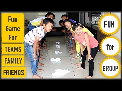 Funny Game | Team Building Activity For Kids, Office, Adults | Fun Family Game | Christmas (2019)