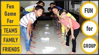 Funny Game | Team building activity for Kids, office, adults | Fun Family Game