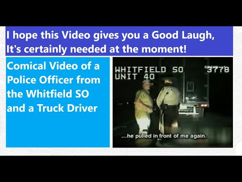 World's Most Amazing Videos - Funny Trucker & Police Clip!