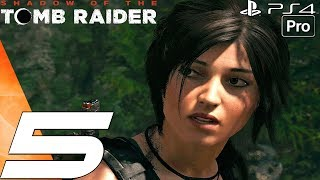 Shadow of The Tomb Raider - Gameplay Walkthrough Part 5 -Temple of Life (1080P 60FPS)