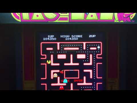 Ms pacman Arcade1Up high score from Kyle McNeil