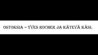 Yves Rocher ja Kätevä Käsi -askarteluliike