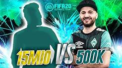 500K PAST & PRESENT WERDER TEAM GEGEN 15 MIO META TEAM IN DIVISION 1 | FIFA 20