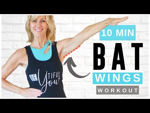10 Minute Bye Bye BAT WINGS Walking Workout For women Over 50!