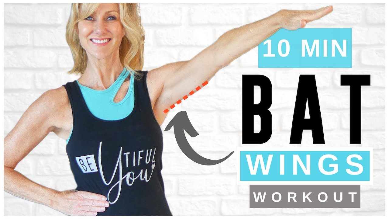 10 Minute Bye Bye BAT WINGS Walking Workout For women Over 50!
