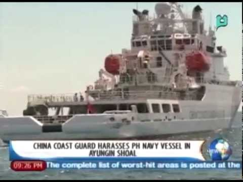 NewsLife: China coastguard harasses PH Navy vessel in Ayungin Shoal