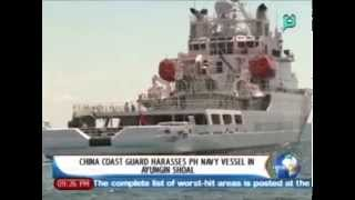 NewsLife: China coastguard harasses PH Navy vessel in Ayungin Shoal