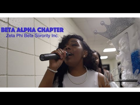Beta Alpha Chapter of Zeta Phi Beta | New Initiate Presentation | Spring 18 [4K]