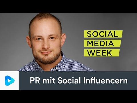Wie beeinflusst man einen Influencer? PR mit Social Influencern #SMWHH Social Media Week Hamburg