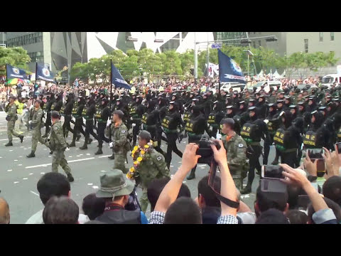 65th Korea Armed Forces on Parade Oct 01 2013 part No 2