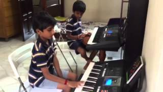 Download Hindi Video Songs - Jeeva veene- song on keyboard by Rahul Rohit