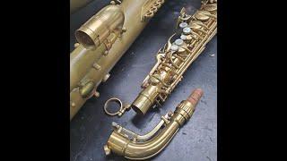 #WednesdayWisdom #Saxtember Vintage Saxophone Receivers!!