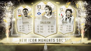 HUGE NEW PRIME ICON MOMENT SBC'S! - FIFA 21 Ultimate Team