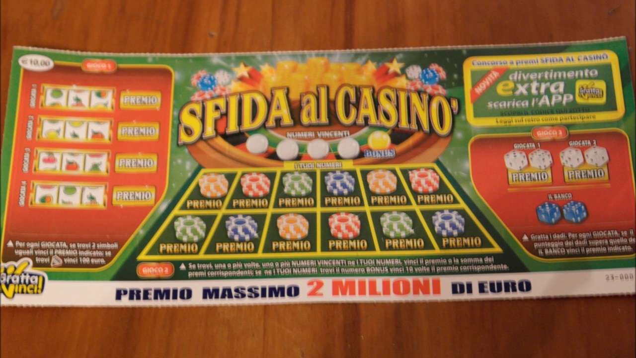 Gratta e vinci gran casino