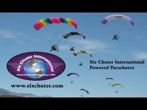 Six Chuter Powered Parachutes Arlington Fly-In, Arlington Washington, USA