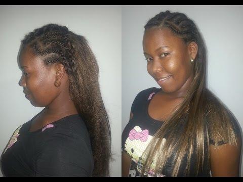 Como Hacer Un Peinado Con Trenzas Africanas Paso A Paso Belleza Sin Limites